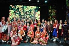 Концерт ансамбля «Белые росы» (15.04.2018)