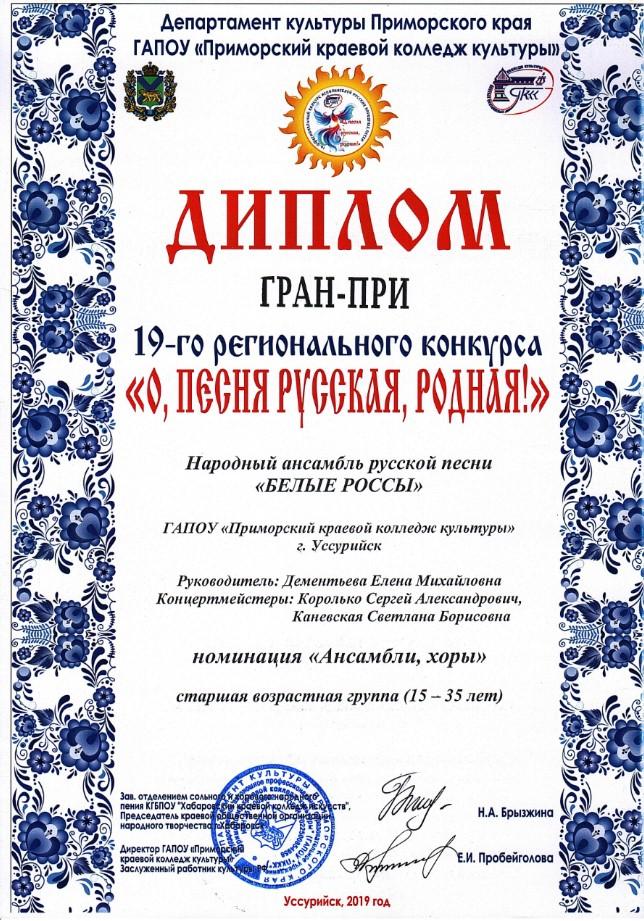 Белые-Россы-Гран-При-м