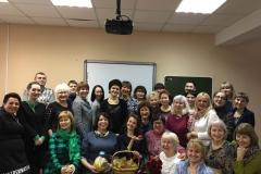 Поздравляем Ирину Васильевну Власову, заведующую заочным отделением!