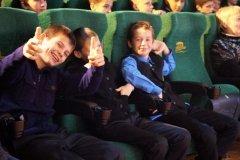 Учащихся средней школы № 6 в колледже отправили в кино