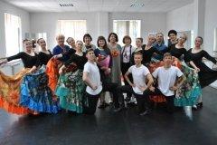 Экзамен в 295 группе по народному танцу