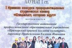 Ярмарка профессий ССУЗов Приморского края